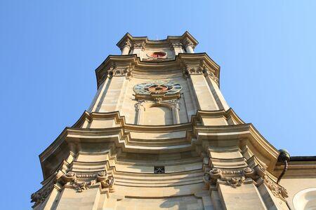 st gallen: St. Gallen abbey in Switzerland .
