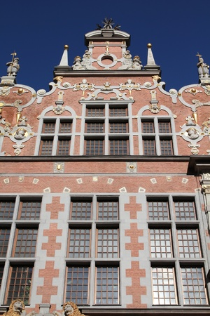 arsenal: Gdansk city in Poland (also know nas Danzig) in Pomerania region. Famous Arsenal building. Editorial