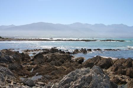 kaikoura: Kaikoura, South Island of New Zealand. Beautiful coast.