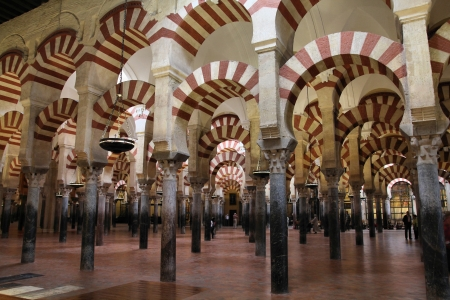 Cordoba, Spain. The Great Mosque (currently Catholic cathedral). UNESCO World Heritage Site. Interior view. Stock Photo - 11805269