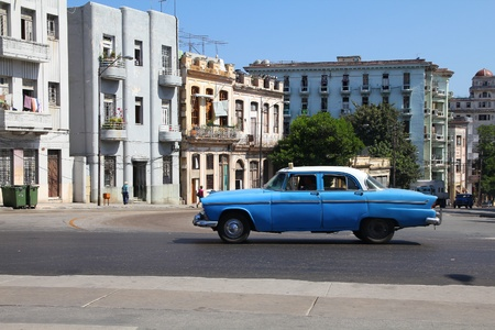 resulted: HAVANA - FEBRUARY 26: Classic American car on February 26, 2011 in Havana. Recent change in law allows the Cubans to trade cars again. Old law resulted in very old fleet of private owned cars in Cuba. Editorial