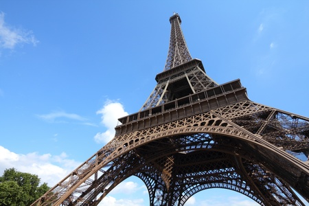 Paris, France - Eiffel Tower.  photo
