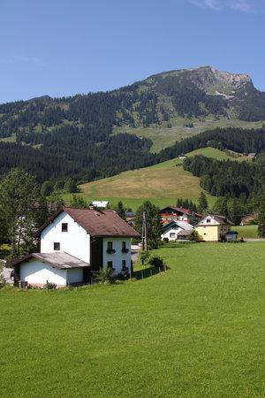 Austrian Alps. Alpine landscape in Upper Austria. Stock Photo - 12201001