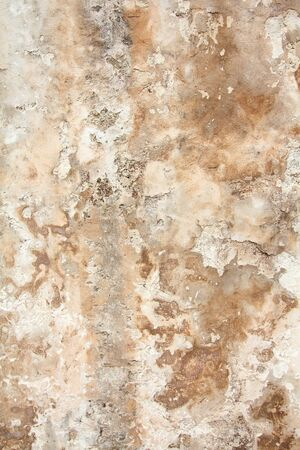 urban decline: Grunge wall with peeling paint. Grungy background texture. Stock Photo