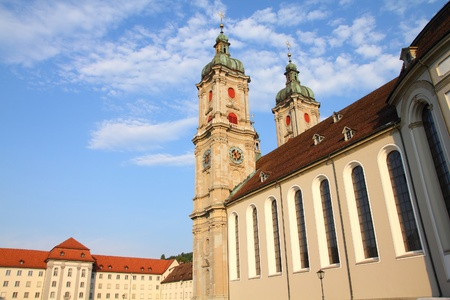 st  gallen: Abad�a de St. Gallen en Suiza