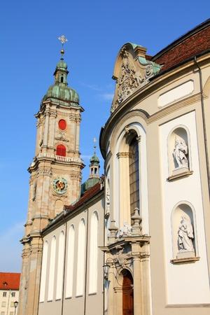 st gallen: St. Gallen abbey in Switzerland  Stock Photo