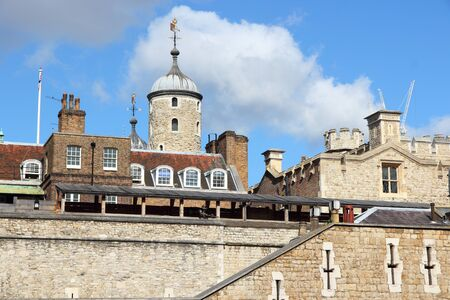 London, England - Tower of London. UNESCO World Heritage Site. Stock Photo - 13762477