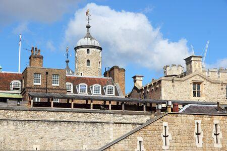 London, England - Tower of London. UNESCO World Heritage Site. Stock Photo - 13762477