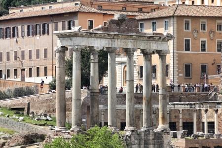 Rome - ancient Roman Forum Stock Photo - 13796170