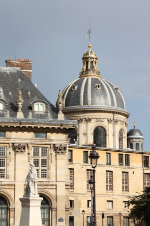 lernte: Paris, Frankreich - Institut de France (Franz�sisch Gelehrtengesellschaft). Alte Wahrzeichen. Editorial