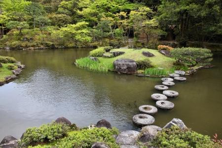 Nara, Japan (Kansai region), Isuien Garden from Meiji era. photo