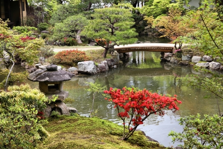 nara: Nara, Japan (Kansai region), Isuien Garden from Meiji era.