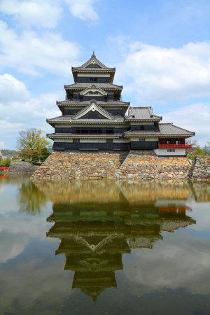 chubu: Matsumoto, Japan - town in Nagano prefeture of the region Chubu. Matsumoto Jo castle.