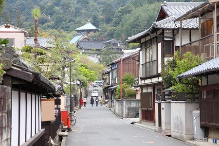 prefecture: Japan - island Miyajima in Hatsukaichi (Hiroshima prefecture, region Chugoku).