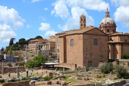 Rome - ancient Roman Forum photo
