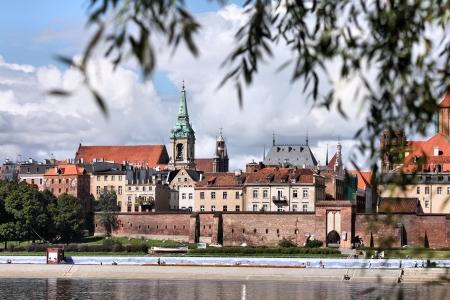 torun: Torun old town in Poland