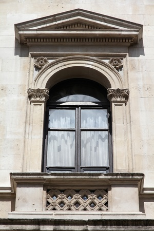 commonwealth: London, United Kingdom - window of Foreign and Commonwealth Office