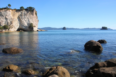 New Zealand, North Island - Stingray Bay at Coromandel peninsula. Stock Photo - 15762051