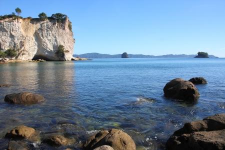 New Zealand, North Island - Stingray Bay at Coromandel peninsula. Stock Photo - 15762051