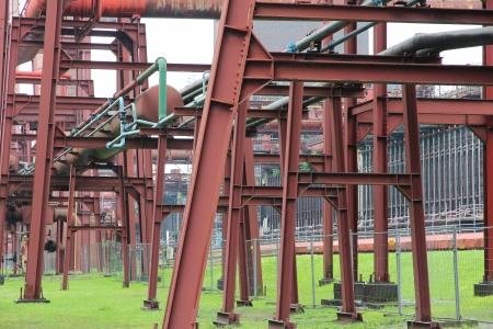coking: Industrial area Zollverein in Essen - city in Ruhrgebiet (Ruhr Metropolitan Region) in Germany.   Stock Photo