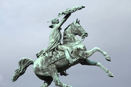 archduke: Vienna, Austria - monument of Archduke Charles.