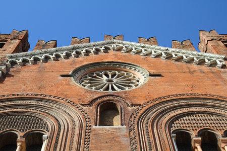 gotico: Piacenza, Italia - Emilia-Roma�a Palazzo Comunale, tambi�n conocido como Il Gotico