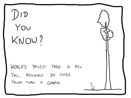 żartować: Fun fakt trivia - przydatne doodle użytkowa ilustracji jako webcomic lub Å›mieszne części gazety.