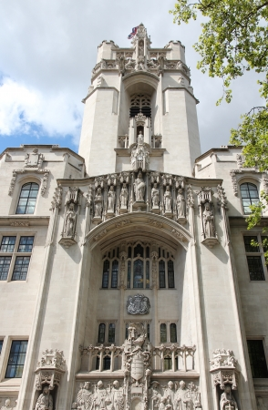 guildhall: London, United Kingdom - Middlesex Guildhall, home of the Supreme Court of the United Kingdom.
