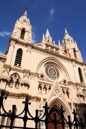 corazon: Malaga in Andalusia region of Spain. Sacred Heart church (Iglesia Sagrado Corazon).