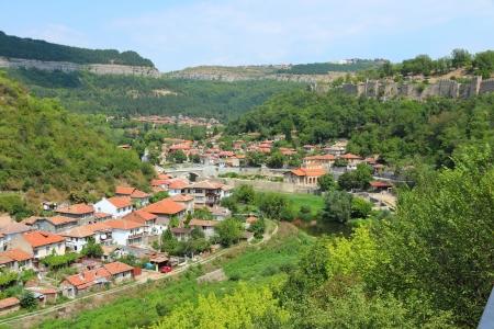 veliko: Veliko Tarnovo in Bulgaria  Famous old town