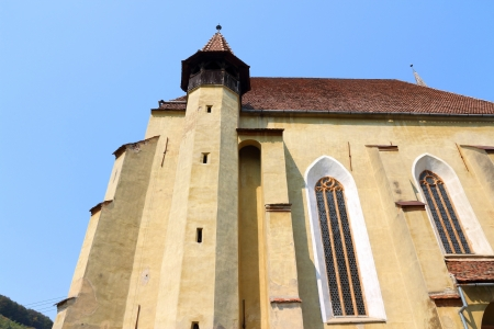 biertan: Biertan in Transylvania region of Romania. Fortified church of Saxon Transylvanians.