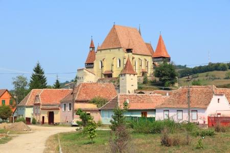 Biertan in Transylvania region of Romania. Fortified church of Saxon Transylvanians. Stock Photo - 18930895