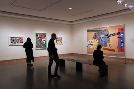museum visit: NEW YORK - JUNE 7: People visit Metropolitan Museum of Art on June 7, 2013 in New York. With 5.2m visitors in 2010 it is the most visited museum in the USA.