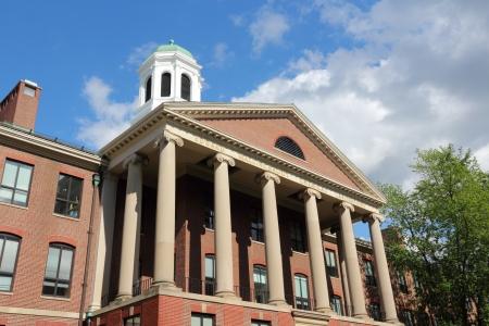 Cambridge, Massachusetts in de Verenigde Staten. Beroemde Harvard University - Edward Mallinckrodt chemisch laboratorium.