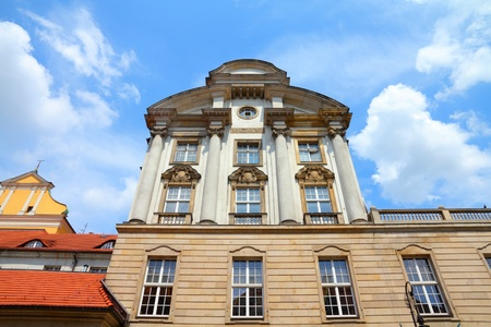 franciscan: Poznan, Poland - city architecture. Greater Poland province (Wielkopolska). Franciscan convent.
