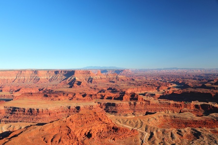 Canyonlands National Park in Utah, USA. Island in the Sky district in sunset light. Stock Photo - 21710031