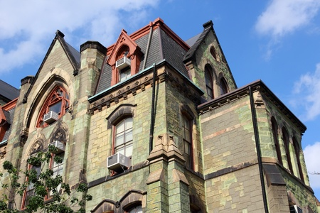 educational institution: Philadelphia, Pennsylvania (United States) - Pennsylvania State University (Penn State). College Hall building.