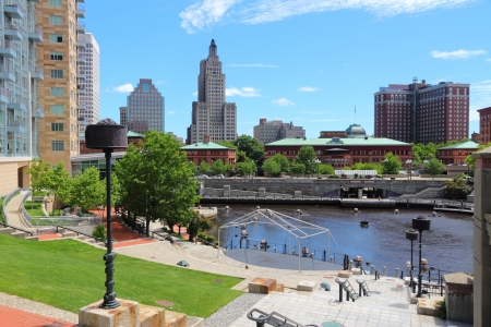 Providence, Rhode Island. City skyline in New England region of the United States. Stock Photo - 21710043