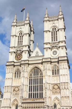 London, United Kingdom - famous Westminster Abbey church.   photo