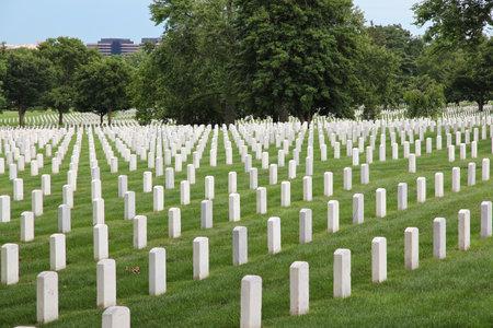 华盛顿特区,美国首都。阿灵顿国家公墓。
