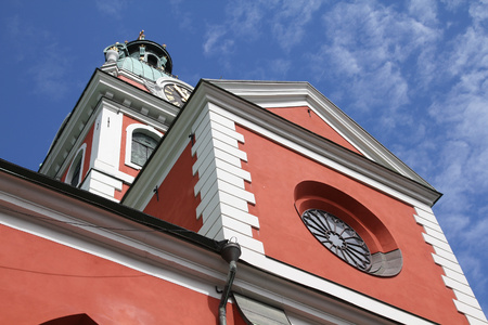 norrmalm: Stockholm, Sweden - Saint Jamess Church in Norrmalm district.