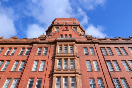 educational institution: Manchester - city in North West England (UK). University of Manchester, Sackville Street Building. Editorial