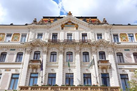 pecs: Pecs, Hungary. City in Baranya county. The county hall.