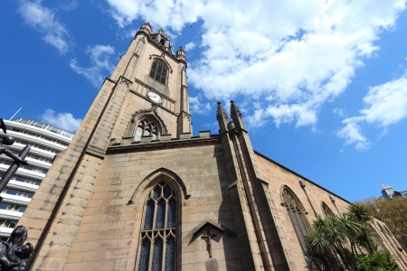 'saint nicholas': Liverpool - city in Merseyside county of North West England (UK). Our Lady and Saint Nicholas church.