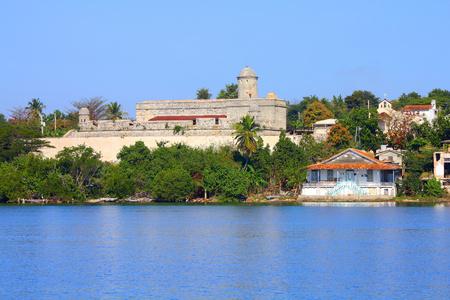 el: Cienfuegos, Cuba - famous old El Jagua coastal fortress