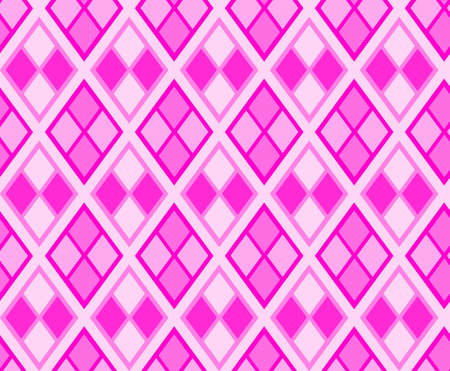 lozenge: Rhombus diamond background illustration. Argyle seamless texture. Lozenge and rhombus shapes. Illustration