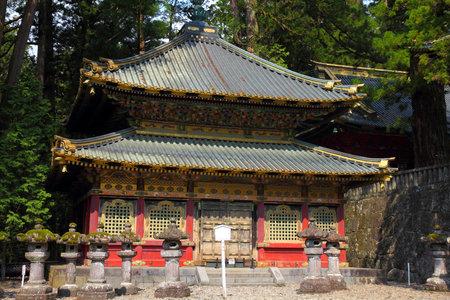 Nikko, Japan - Part of Tosho-gu Shinto shrine.