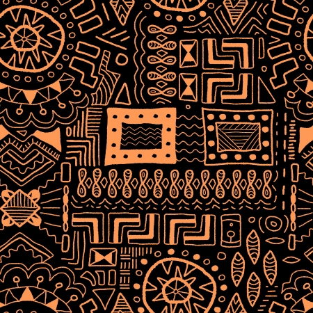 Aboriginal Art Background Indigenous African Patterns Seamless New African Patterns