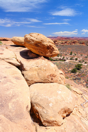Canyonlands National Park in Utah, USA. Needles district. Stock Photo - 24258303