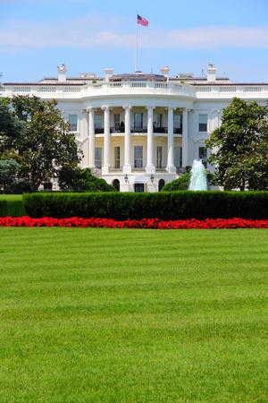 Washington DC, capital de los Estados Unidos. Edificio de la Casa Blanca. La oficina presidencial.